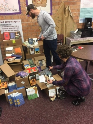 GEAR UP Appalachian State Books for all